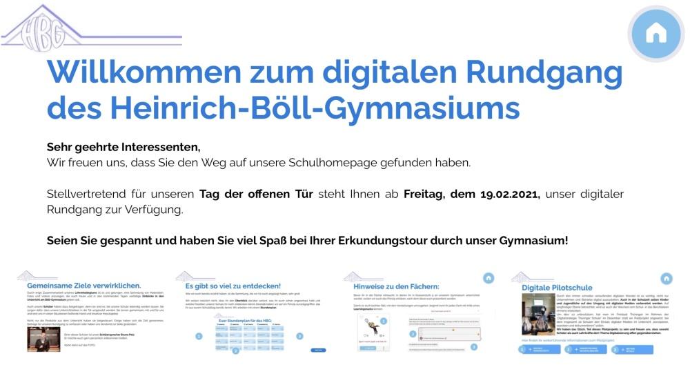 Der Link zum digitalen Rundgang für interessierte Schüler_innen und Eltern